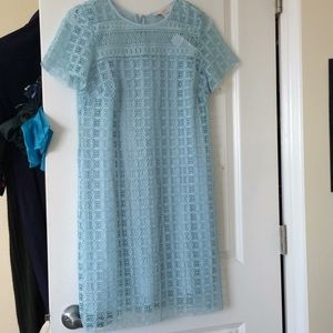 NWT baby blue LOFT dress